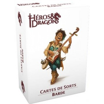 Héros & Dragons : Cartes barde