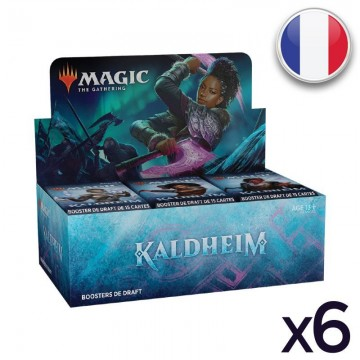 MTG Kaldheim Display VF x 6