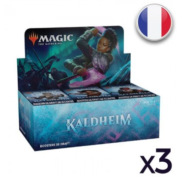 MTG Kaldheim Display VF X 3