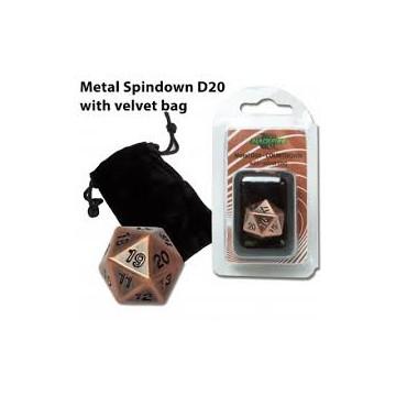 Blackfire Dice - D20 Metal...