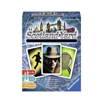 Scotland Yard  Jeu de Cartes