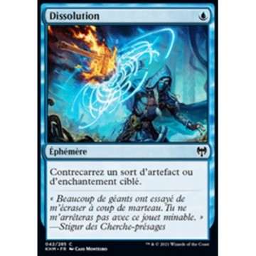 Image de la carte Dissolution de l'édition Kaldheim pour le jeu de cartes à collectionner Magic the Gathering.