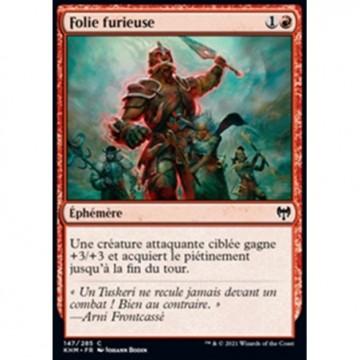 Image de la carte Folie furieuse de l'édition Kaldheim pour le jeu de cartes à collectionner Magic the Gathering.