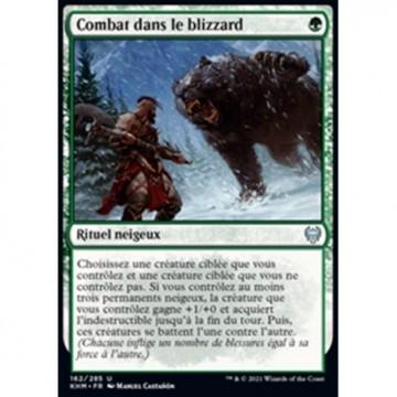 Image de la carte Combat dans le blizzard de l'édition Kaldheim pour le jeu de cartes à collectionner Magic the Gathering.
