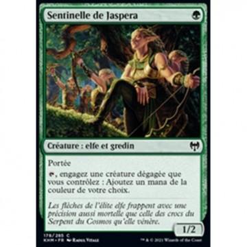 Image de la carte Sentinelle de Jaspera de l'édition Kaldheim pour le jeu de cartes à collectionner Magic the Gathering.