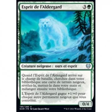Image de la carte Esprit de l'Aldergard de l'édition Kaldheim pour le jeu de cartes à collectionner Magic the Gathering.
