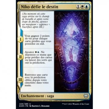 Image de la carte Niko défie le destin de l'édition Kaldheim pour le jeu de cartes à collectionner Magic the Gathering.