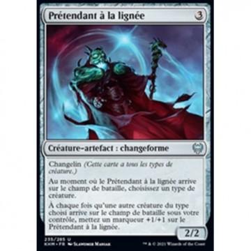 Image de la carte Prétendant à la lignée de l'édition Kaldheim pour le jeu de cartes à collectionner Magic the Gathering.
