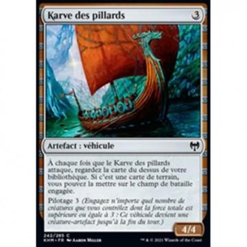 Image de la carte Karve des pillards de l'édition Kaldheim pour le jeu de cartes à collectionner Magic the Gathering.