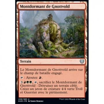 Image de la carte Montdormant de Gnottvold de l'édition Kaldheim pour le jeu de cartes à collectionner Magic the Gathering.