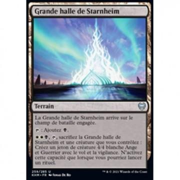 Image de la carte Grande halle de Starnheim de l'édition Kaldheim pour le jeu de cartes à collectionner Magic the Gathering.
