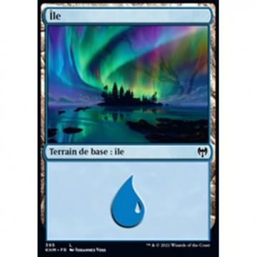 Image de la carte Île de l'édition Kaldheim pour le jeu de cartes à collectionner Magic the Gathering.
