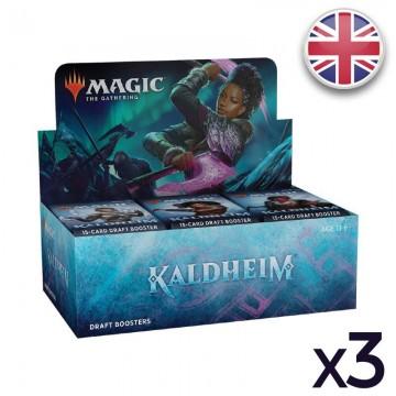 MTG Kaldheim Display VO x 3