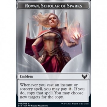 Emblème de Rowan, érudite...